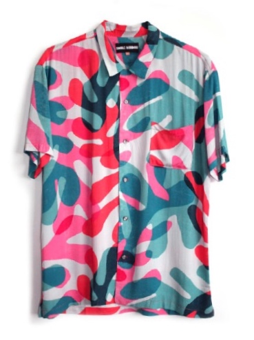 DOUBLE RAINBOUU CORAL LEAF HAWAIIAN SHIRT(ダブルレインボー)2016824152022.jpg