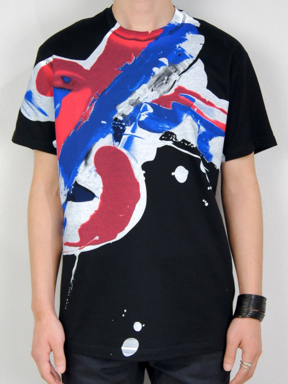 ALMOSTBLACK DRAWING PRINT T-SHIRT(オールモストブラック)2016910182041.jpg