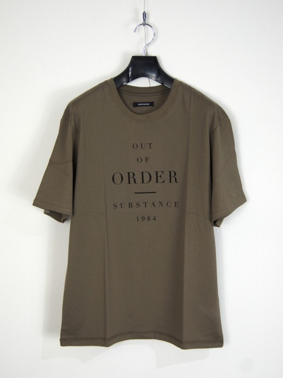 CHRISTIAN DADA OUT OF ORDER Print Fine Cotton T-shirt(クリスチャンダダ)2017127181842.jpg