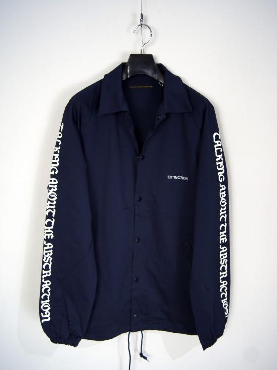 TALKING ABOUT THE ABSTRACTION Sleeve Print Coach Jacket(トーキング アバウト ジ アブストラクション)201712817032.jpg
