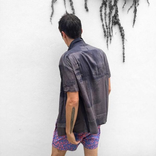 DOUBLE RAINBOUU TEENAGE RIOT HAWAIIAN SHIRT(ダブルレインボー)2017610191829.jpg