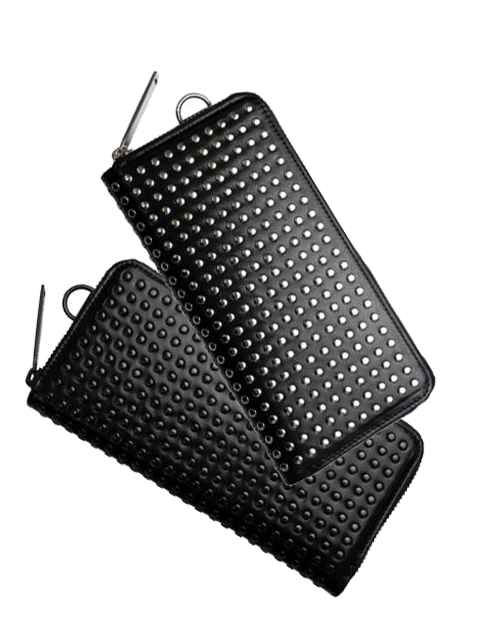 PATRICK STEPHAN LEATHER LONG WALLET FOLD 'ALL-STUDS'(パトリックステファン)2017627173822.jpg