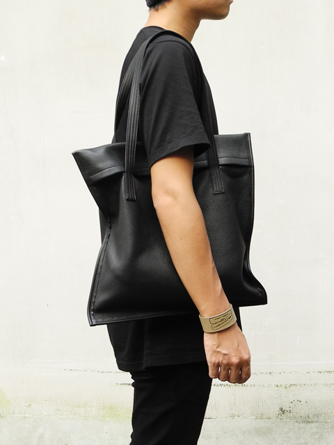 PATRICK STEPHAN Leather bag 'frame flat' grainé(パトリックステファン)20176616589.jpg