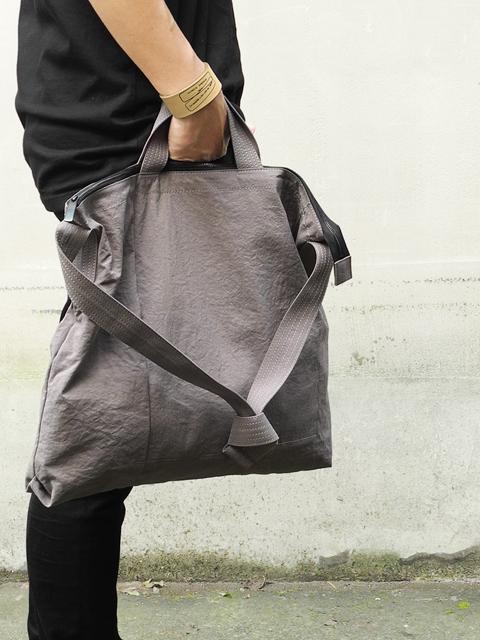 PATRICK STEPHAN Fabric shoulder bag 'grande poche'(パトリックステファン)201768193641.jpg