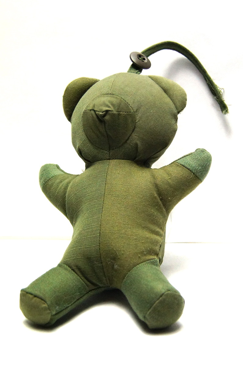READYMADE VINTAGE COTTON TEDDY BEAR DOLL-2016131162829.jpg