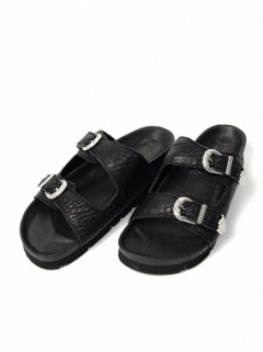 LEATHER BUCKLE SANDAL