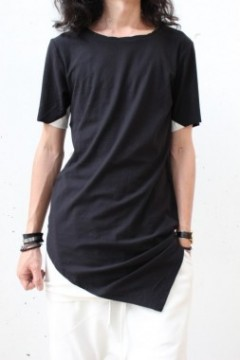 RHOMBOID T-SHIRT (BLACK)