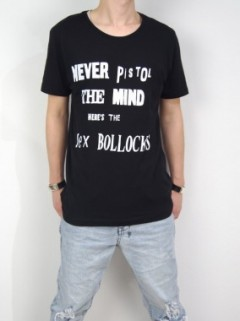 NEVER MIND SEX T-SHIRT (BLACK)