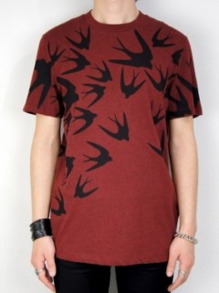 HIGHRISE SWALLOW T-SHIRT