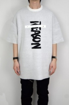"""NO REASON"" Jacquard Knit (WHITE)"