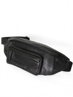 Leather bodybag / COW HIDE 'timeless'