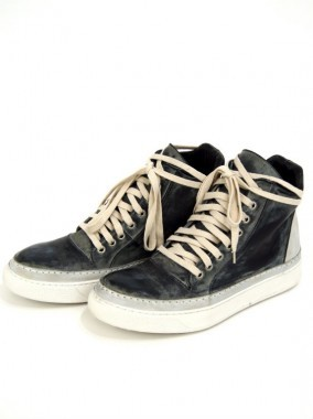PELLE LEATHER LACE-UP SNEAKER