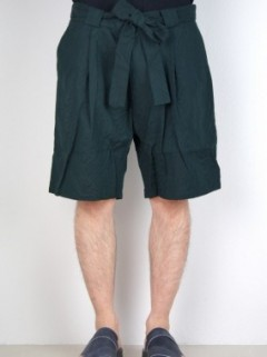 JACQUARD BOX PLEATS SHORTS