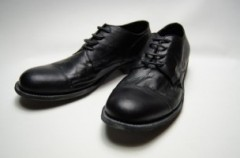 STRAIGHT CHIP LEATHER SHOES
