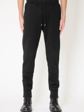 TAILORED SIDE ZIP SWEATPANTS
