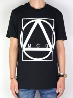 MULTI GEOMETRIC PRINT T-SHIRT