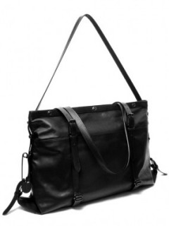 LEATHER ATELIER BAG M