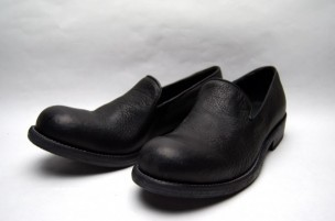BISONTE LEATHER SLIP-ON