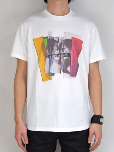 COLLAGE PRINT T-SHIRT (WHITE・BLACK)