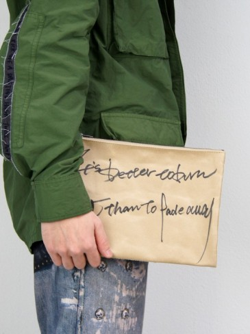 HITCHHIKE PAPER CLUTCH BAG【サイズ L】世界地図