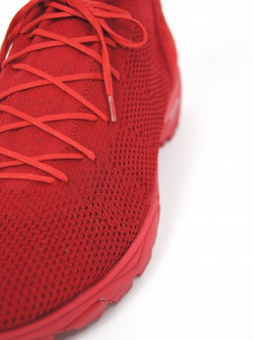 3D Knit Hybrid Sneaker (RED)