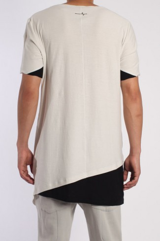 RHOMBOID T-SHIRT (ASH)