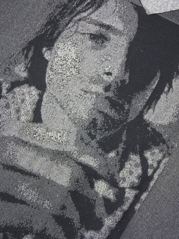Kurt Cobain PHOTO JACQUARD