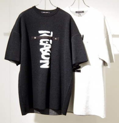 """NO REASON"" Jacquard Knit (BLACK)"