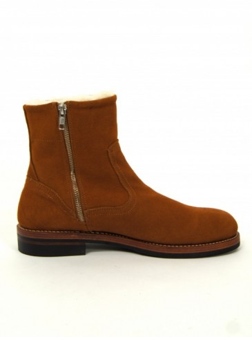MOUTON SIDE ZIP BOOTS