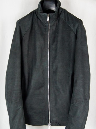 BASIC ZIPUP LEATHER JACKET
