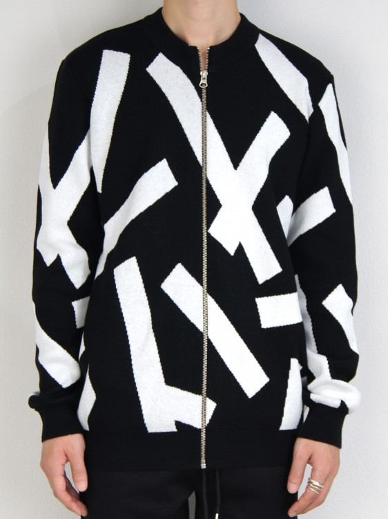 STRIP ZIP TAPE BLOUSON