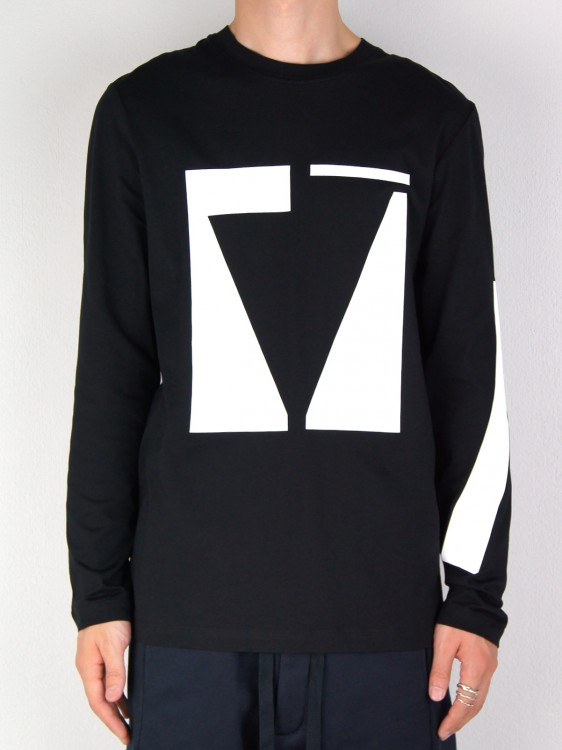 OVER PRINT LONG SLEEVES