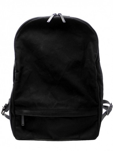 "LEATHER×COTTON ""MINIMAL"" BACKPACK"