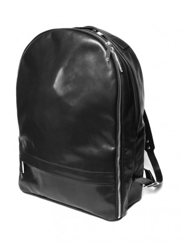 "LEATHER ""MINIMAL"" BACKPACK"